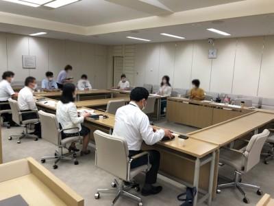 2学期からのコロナ対策について東京都教育委員会と懇談しました。